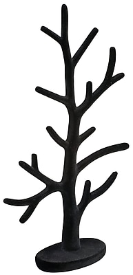 Tripar Black Velour Jewelry Tree, 6 Pieces (35977)
