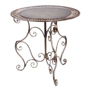 Tripar Metal Accent Table, Bronze, Each (54660)