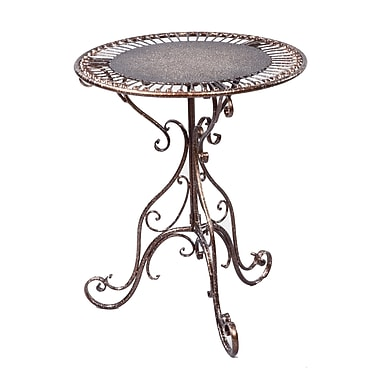 Tripar Metal Accent Table, Bronze, Each (54661)