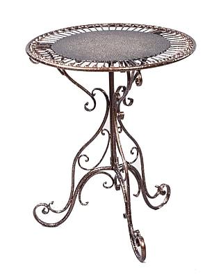Tripar Metal Accent Table, Bronze, Each (54661)