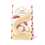 Lindor White Chocolate Peppermint Bag, 24 ct (C001535)