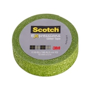Scotch® Expressions Glitter Tape, 15 mm x 5 m, Green