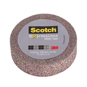 Scotch® Expressions Glitter Tape, 15 mm x 5 m, Multi