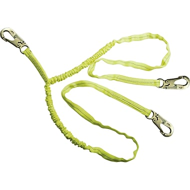 Durabuilt Lanyards, Double-leg Decelerator, Sak526, Anchorage Connection, Double Locking Snap Hook