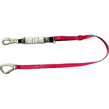 Fp5k Tie-back Shock-absorbing Lanyards, Nylon Web