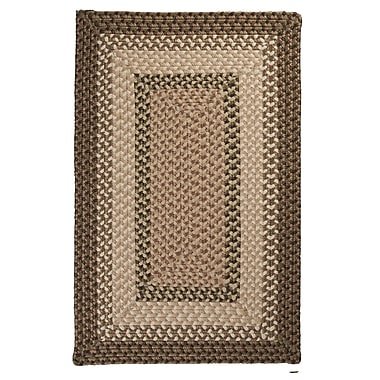 Colonial Mills Tiburon Spruce Green Braided Indoor/Outdoor Area Rug; Rectangle 7' x 9'
