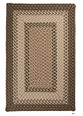 Colonial Mills Tiburon Spruce Green Braided Indoor/Outdoor Area Rug; Rectangle 4' x 6'