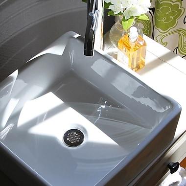 Nantucket Sinks Brant Point Square Vessel Bathroom Sink