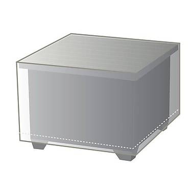 TK Classics Outdoor Protective Wicker End Table Cover