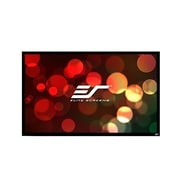 Elite Screens ezFrame2 Grey Fixed Frame Projection Screen; 120'' Diagonal