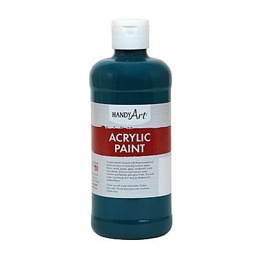 Handy Art® Student Acrylic Paint, Phthalo Green, 16oz (RPC101050)