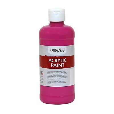 Handy Art® Student Acrylic Paint, Magenta, 16 Oz. (RPC101070)