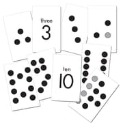 "Essential Learning Products® Subitizing Activity Cards, GR K-1, 4.75"" x 7.75"", 38 Double-Sided Cards (ELP626633)"