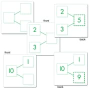 "Essential Learning Products® Number Bond Acitivity Cards Addition & Subtraction, 5""x5"", 80 Double-Sided Cards(ELP626647)"
