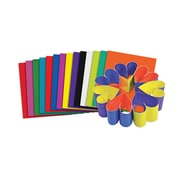 "Roylco® Double Color Sheets, 8"" x 9"", Assorted, 100 Sheets (R-22052)"