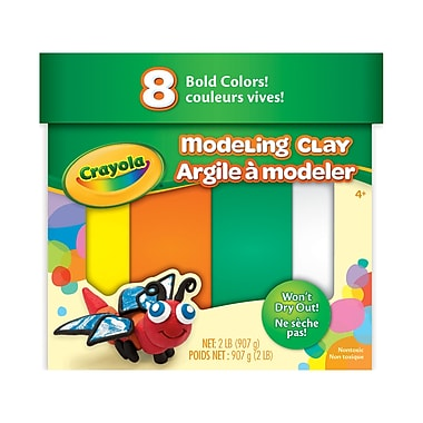 Crayola Bold Colours Modeling Clay, 3/Pack (BIN570315)
