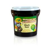 Crayola® Modeling Clay Bucket, Non Toxic, Black, 1 lb (BIN571351)