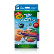 Crayola Air Dry Clay, Assorted Colours, 2.5oz  (BIN572001)