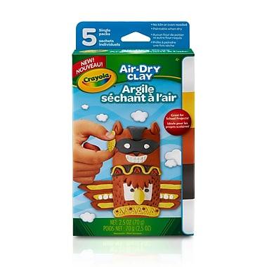 Crayola Air Dry Clay, Assorted Colours, 2.5oz (BIN572002)