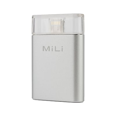 MiLi 128 GB iPhone Flash Drive (SHP-IDATA-128GB) by AZT TECH