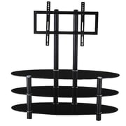 Hodedah Hodedah 43'' Glass TV Stand