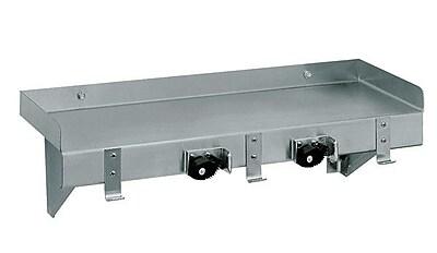 Advance Tabco Mop Sink Shelf Shelving Utility; 5'' H x 44'' W x 5'' D