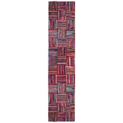 St. Croix Brilliant Ribbon Tiles Area Rug; Runner 2'6'' x 12'