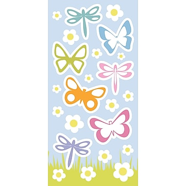 WallPops! Home Decor Line Spring Butterflies Glow in the Dark Wall Decal