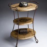 Butler Metalworks 3 Tiered End Table