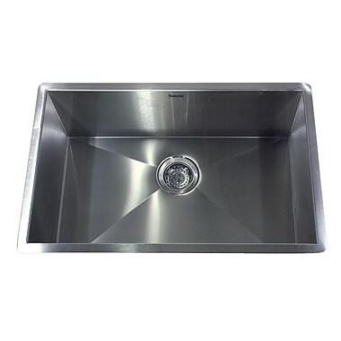 Nantucket Sinks Pro Series 28'' x 18'' Undermount Kitchen Sink