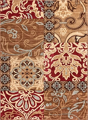 Well Woven Wallaby Daisy Dream Brown Area Rug; 5'3'' x 7'3''