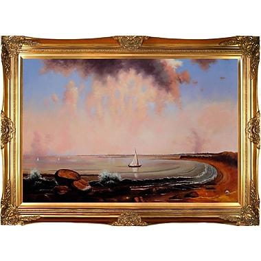 Tori Home Heade Shore Scene Point Judith Framed Painting