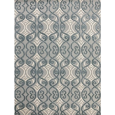 AMER Rugs Glow Graphite Area Rug; 8' x 11'
