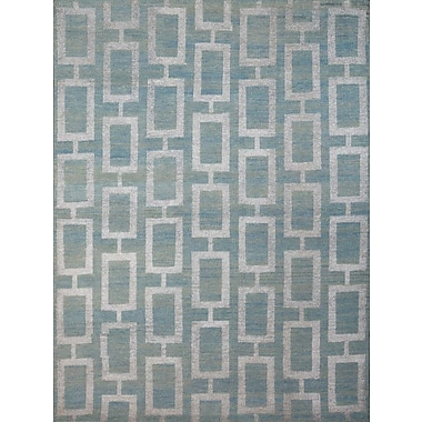 AMER Rugs Kimaya Steel Blue Area Rug; 5' x 8'