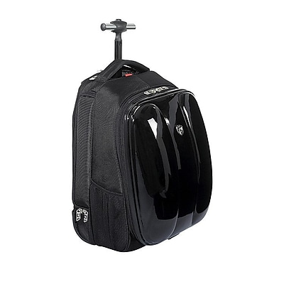 Heys Blazer Rolling Backpack, Black, Polyester (27007-0001-00)