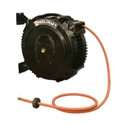 "Reelcraft SGA3650 OLP Spring Rewind Hose Reel for 50' x 3/8"" ID Air/Water Hose"