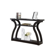 Monarch Specialties Console Table in Cappuccino ( I 2445 )