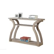 Monarch Specialties Console Table In Dark Taupe ( I 2446 )