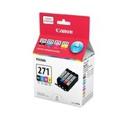 Canon - Paquet assorti économique de cartouches d'encre CLI-271 CMYK