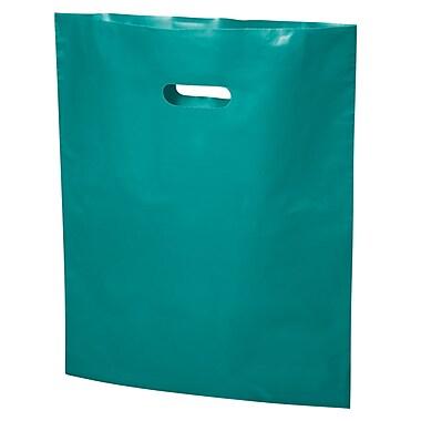 B2B Wraps - Sacs découpés à replier, couleurs mode unies, 20 po x 23 po, turquoise