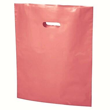 B2B Wraps - Sacs découpés à replier, couleurs mode unies, 20 po x 23 po, rose