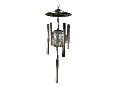 Pacific Accents Color Changing Solar Wind Chime