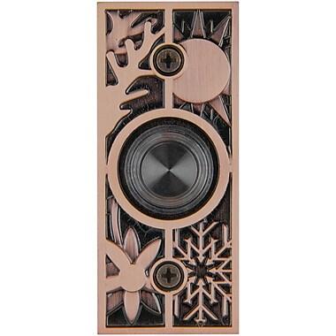 Waterwood Hardware Solid Brass Four Seasons Doorbell