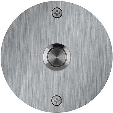 Waterwood Hardware Round Stainless Steel Doorbell