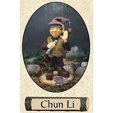 The Whitehurst Company, LLC Zim's The Woodland Elves Themselves Chun Li Figurine