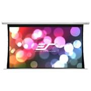 Elite Screens Saker White Electric Projection Screen; 100'' Diagonal 4:3, 10'' Drop