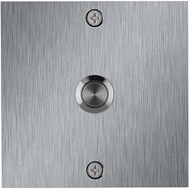 Waterwood Hardware Square Stainless Steel Doorbell