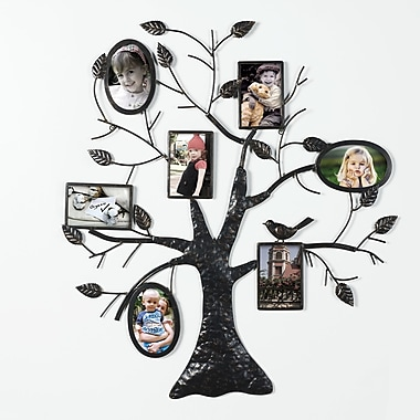 AdecoTrading Collage Wall Hanging 7 Opening Picture Frame