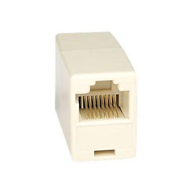 Tripp Lite N033-001 RJ-45 Female/Female Telephone Straight Through Modular Inline Coupler, White