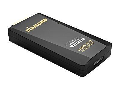 Diamond BVU3500H USB 3.0 to HDMI/DVI Adapter, Black